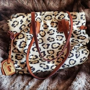 Dooney & Bourke large cheetah tote